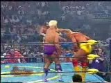 Slamboree 1995 - Randy Savage & Hulk Hogan vs Ric Flair & Va