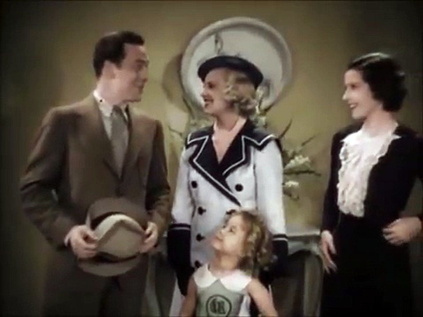 Shirley Temple ~ Baby Take A Bow 1934 ~ Shirley At Dancing School