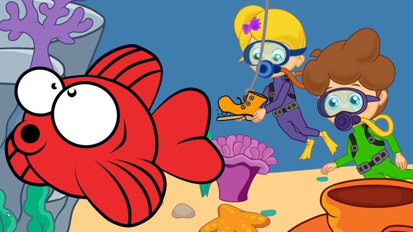 Kırmızı Balık - Sevimli Dostlar Çocuk Şarkıları | Okidokido