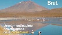 Les Indiens de Bolivie remercie Mère Nature, la Pachamama