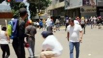 Des policiers sont blessés lors d'une explosion