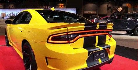 2017 Dodge Charger SRT Hellcat - Exterior and Interior Walkaround - 2017 Chicago Auto Show