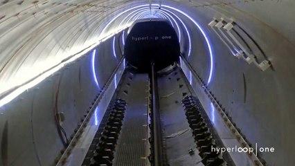 Hyperloop One Reaches Historic Speed In Nevada Desert
