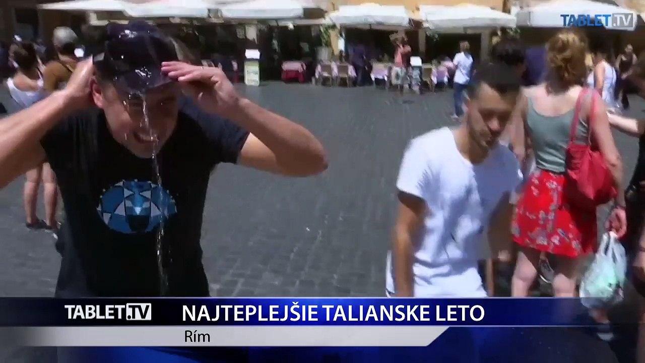 Teplotné rekordy padajú aj v Taliansku