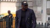 Boxer Dereck Chisora arrives at court on assault charge
