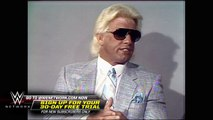 Ric Flair acknowledges Dusty Rhodes' greatness: NWA Championship Wrestling, Aug. 2, 1986