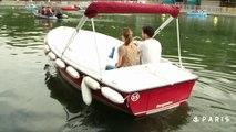 Conduisez un bateau sans permis au bassin de la Villette !