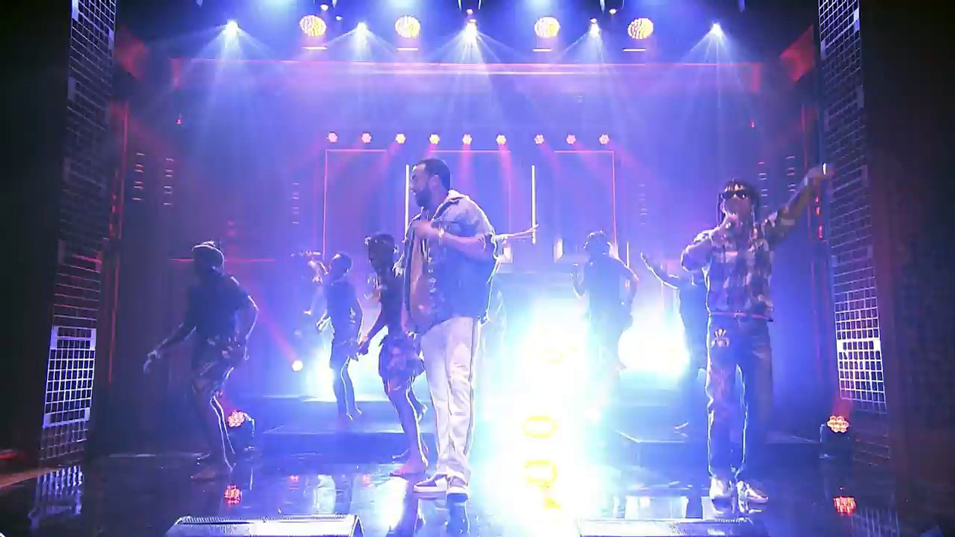 French Montana x Sway Lee - Unforgettable (Live on The Tonight Show Starring Jimmy Fallon)