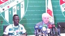 Bursaspor'da Transfer - Ali Ay/emmanuel Badu