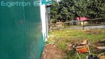 İstanbul Zekeriyaköy - Göçmen's Ranch Binicilik ( At Çiftliği ) - 4.2Kw/s MPPT Güneş Enerjisi Sistemi - Egetron Enerji