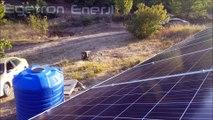 2.4KW /sa MPPT Güneş Enerjisi Çanakkale Ayvacık Projemiz Egetron Enerji