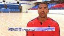 Les objectifs du PSG Handball, Paris 2024 ou encore sa reconversion… Daniel Narcisse se confie