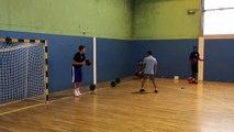 AS Cherbourg Basket N2 reprise entraînement