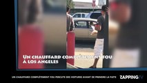 Un chauffard fou percute d'autres véhicules avant de prendre la fuite (vidéo)