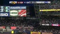 2009 Yankees: Johnny Damon hits a 3 run upper deck home run off Josh Beckett, Red Sox (5.0