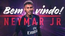 Foot - Transferts : Neymar au PSG, c'est (enfin) officiel !