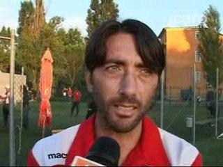 Icaro TV. L'amichevole del Real Rimini con l'Equipe Romagna. Interviste a Neri e Di Giulio