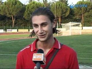 Icaro TV. Il servizio su Savignanese-Rimini e le interviste a D'Angelo e Baldazzi