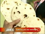 Tortillas de harina. Cocinemos Juntos
