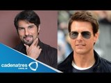 Confunden a Arturo Carmona con Tom Cruise / Arturo Carmona confused with Tom Cruise