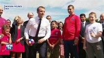 La côte de popularité d'Emmanuel Macron connaît une chute inédite