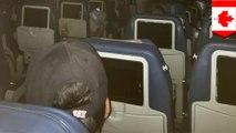 Cerita horor pesawat; pesawat terjebak tanpa listrik, makanan, dan air - TomoNews