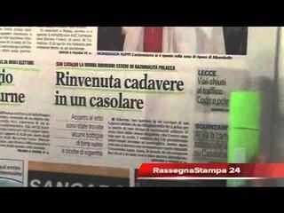 Leccenews24 Notizie dal Salento: rassegna stampa 30 Maggio