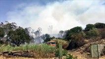 Violent incendie à Ajaccio