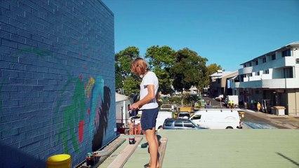 Byron Bay se transforme en ville du street art avec l'Elysium de Lateen Lane