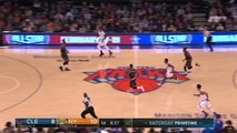 LeBron James Youngest Player to 28K Pts! Kevin Love Dunks on Hernangomez! Cavs vs Knicks