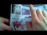 Unboxing: 1/144 HGBF Gundam Amazing Red Warrior