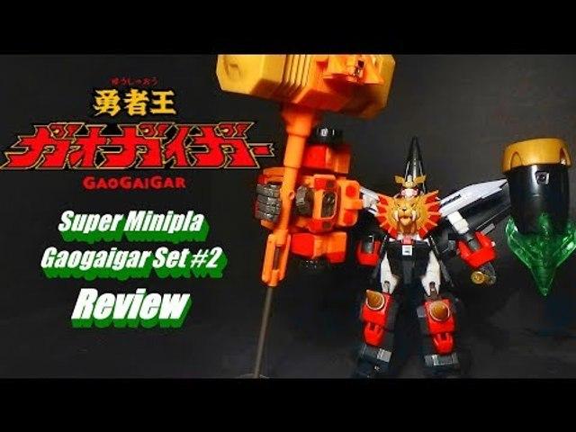 Super Minipla Gaogaigar Set #2 Review