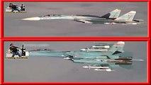 Pilotos Rusos no amenazan, pilotos de EEUU, les enseñan que les lloverá y se largan.