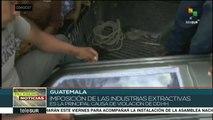 Guatemala: dirigentes comunitarios testifican sobre violaciones a DDHH