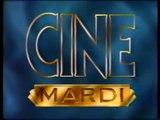 """TF1 - 15 Décembre 1992 - Journal des courses + Météo + Bande annonce + Publicités + Générique """"Ciné Mardi"""""""