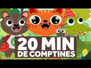 20 Minutes de Comptines pour les Enfants - Ah ! Les Crocodiles - Le Monde des Zibous