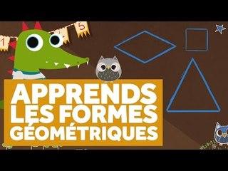 Apprendre Les Formes Géométriques - L'École des Zibous ! Vidéo Educative