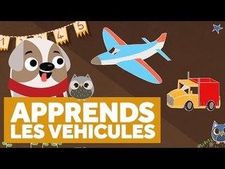 Apprendre Les Véhicules -  L'École des Zibous ! Vidéo Educative