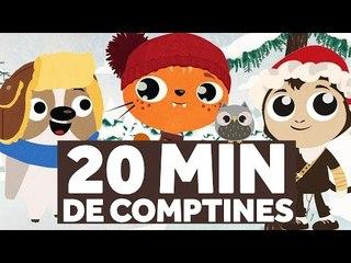 20 Minutes de Comptines pour les Enfants - Vive Le Vent - Le Monde des Zibous