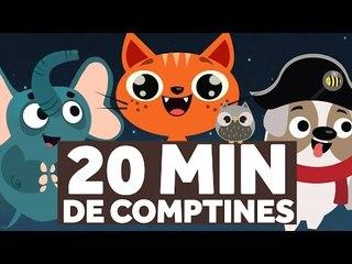 20 Minutes de Comptines pour les Enfants - Au Clair De La Lune - Le Monde des Zibous