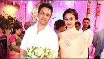 Vijay, Suriya at Raadhika Sarathkumars daughter Rayane Abhimanyu Mithun Wedding Reception