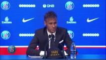 Foot - L1 - PSG : Neymar remercie Javier Pastore