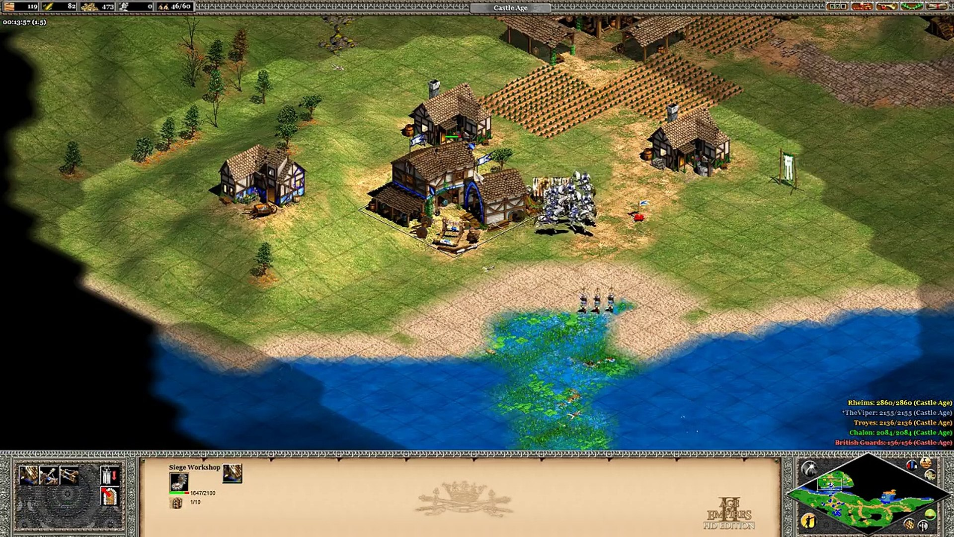 Age of Empires II: Age of Kings Campaign 2.4 Joan of Arc: The Rising