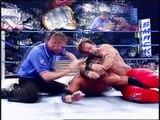 Chris Benoit & Kurt Angle vs Rey Mysterio & Edge for inaugural WWE Tag Team Championship No Mercy 2002