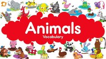 Zoo Animals, Wild Animals, Farm Animals and Pets Chant for Kids
