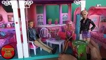 Видео с куклами Barbie, серия 474, День рождение Келли, дом Барби