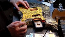 Motorhead Ace of Spades Fast Eddie Clark Stratocaster replica