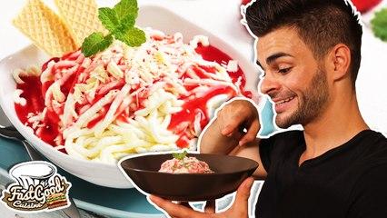 Recette des Spaghetti eis