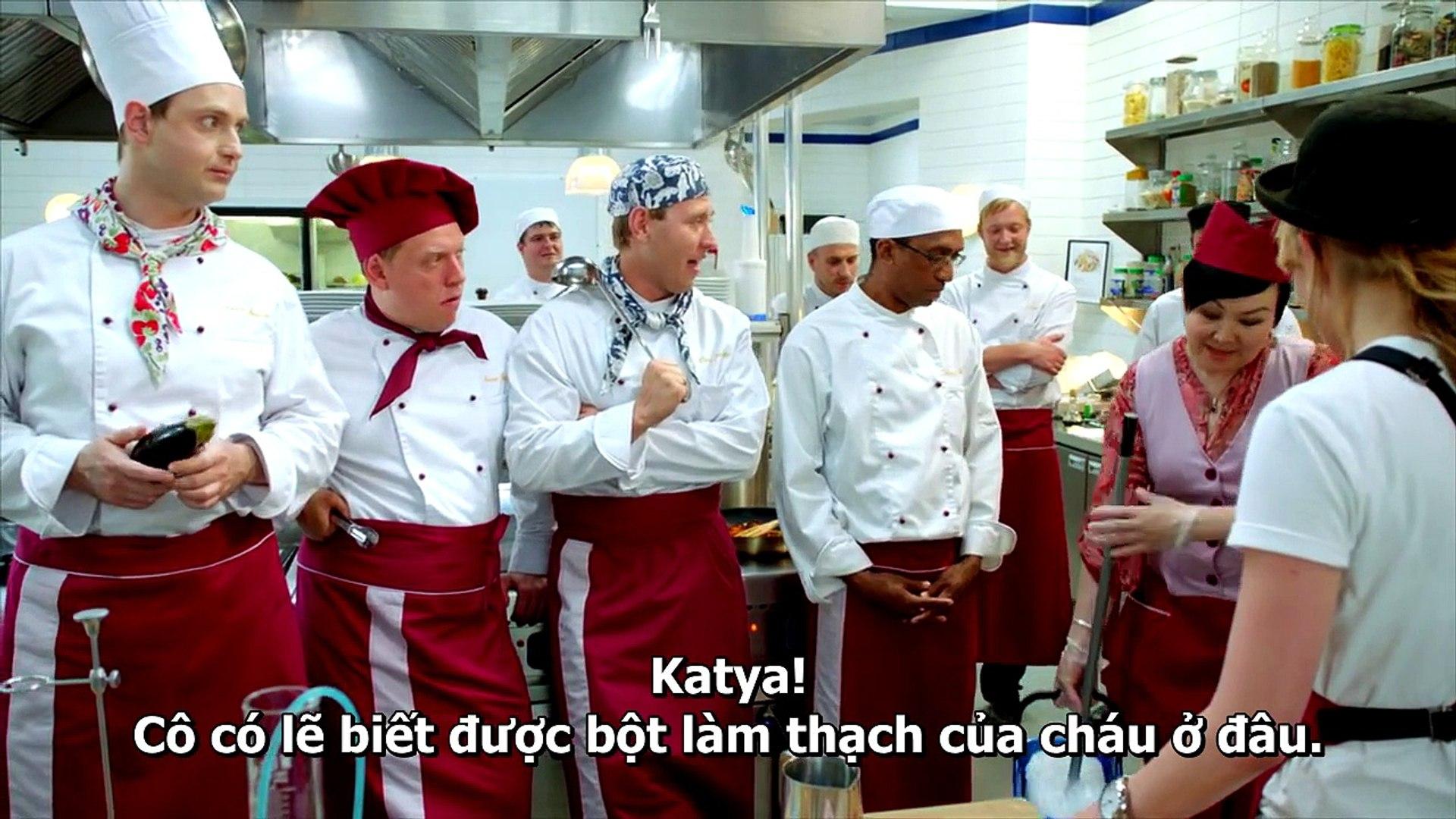 Tập 75 Kitchen - Nhà Bếp (hài Nga) (Кухня (телесериал)) 2012 HD-VietSub