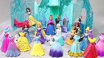 Disney Princess 디즈니 공주 겨울왕국 인형 엘사 안나와 공주들